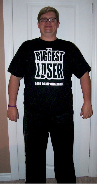 Our Loser for The Biggest Loser Boot Camp Challenge Round #1 Blaine Meller Lost  45.8 lbs on the scale and 39.8 lbs of Fat